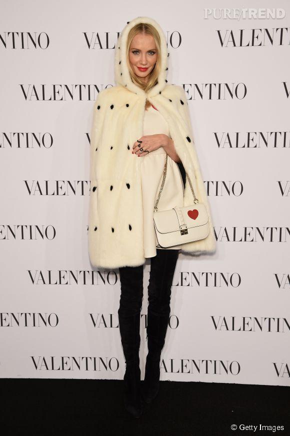 Tatiana Korskova à la soirée Valentino Sala Bianca 945 le 10 décembre 2014 à New York.