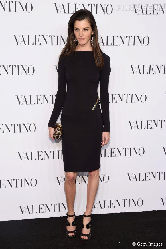 Julia Restoin-Roitfeld à la soirée Valentino Sala Bianca 945 le 10 décembre 2014 à New York.