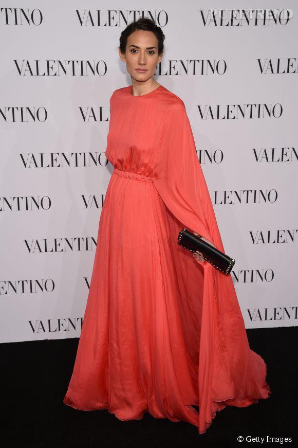 La créatrice de bijoux Zani Gugelmann à la soirée Valentino Sala Bianca 945 le 10 décembre 2014 à New York.