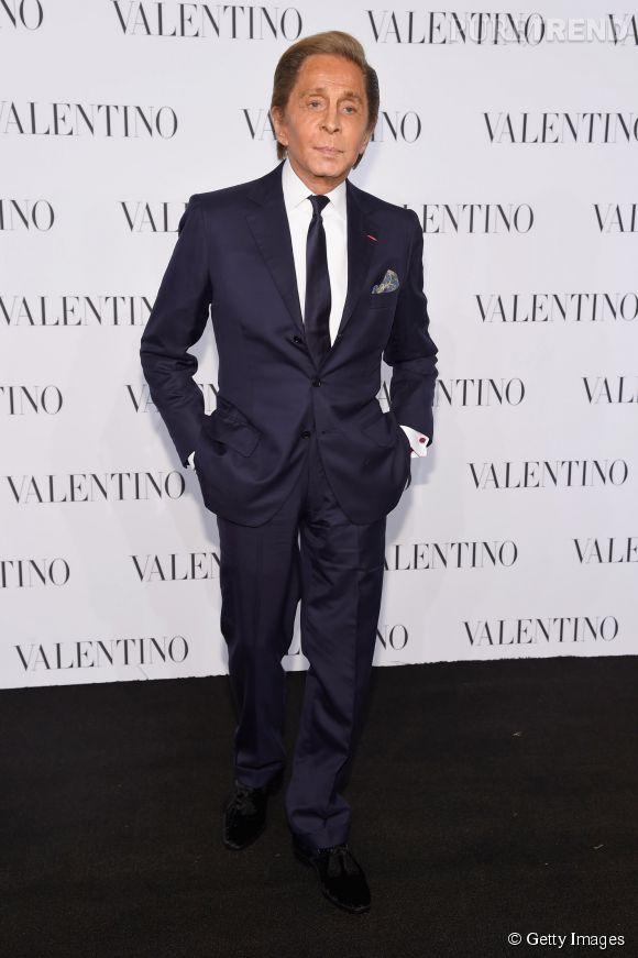 Valentino Garavani à la soirée Valentino Sala Bianca 945 le 10 décembre 2014 à New York.