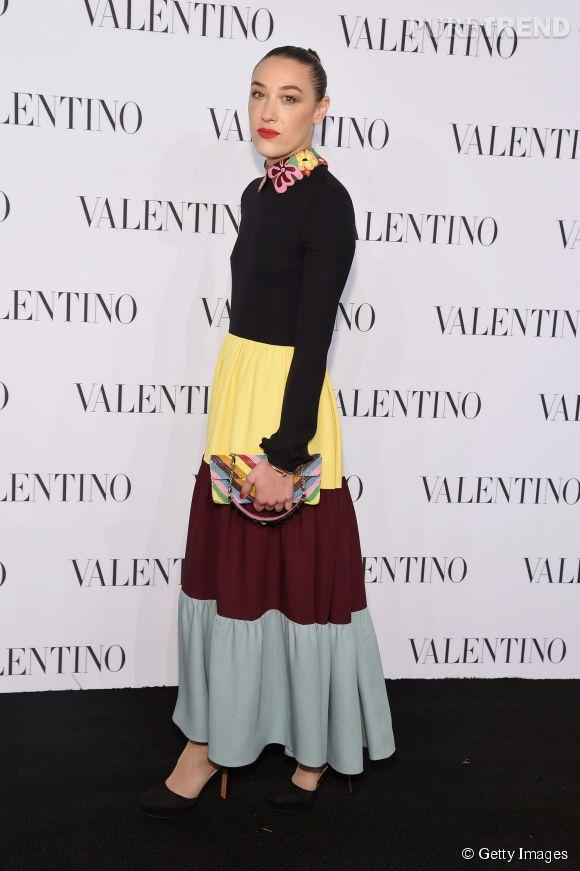 Mia Moretti à la soirée Valentino Sala Bianca 945 le 10 décembre 2014 à New York.