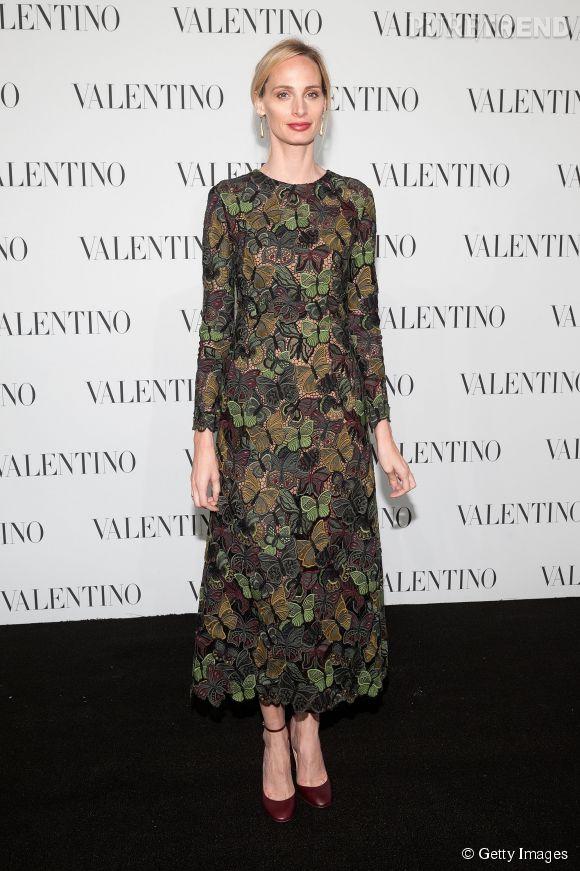 Lauren Santo Domingo à la soirée Valentino Sala Bianca 945 le 10 décembre 2014 à New York.
