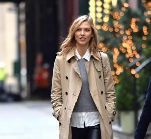 Karlie Kloss : look de bureau rebelle... à shopper !