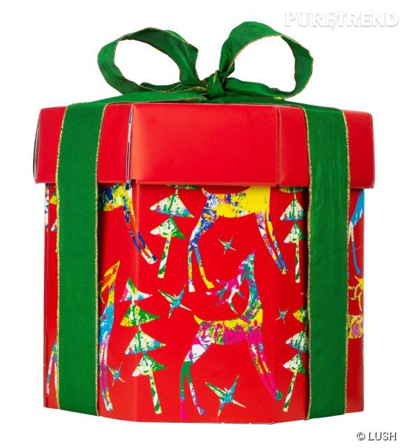 Découvrez les coffrets cadeaux LUSH remplis de surprises et d'innovations !