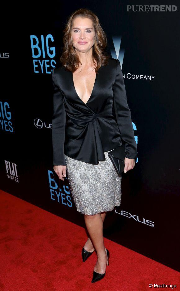 A 49 ans, Brooke Shields, n'a rien perdu de son sex-appeal.