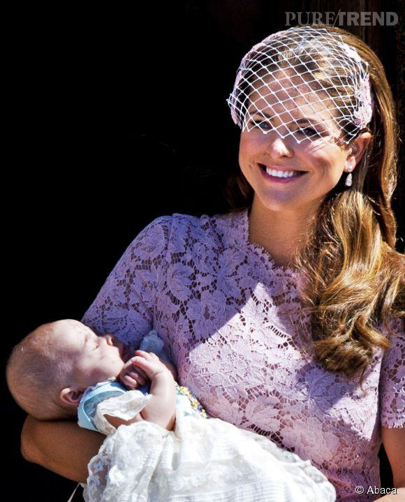 Dix mois après la naissance de sa fille, la petite Leonore, la princesse Madeleine a annoncé attendre un nouvel heureux événement.