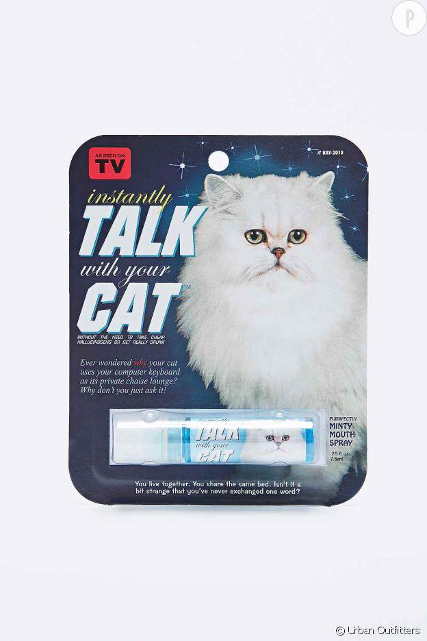 Un spray pour parler à son chat
