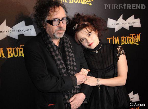 Tim Burton et Helena Bonham Carter était un couple culte et iconoclaste. Ils vivaient dans deux maisons jumelles séparées.