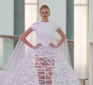 Défilé Stéphane Rolland Haute Couture Printemps-Été 2015, la mariée.