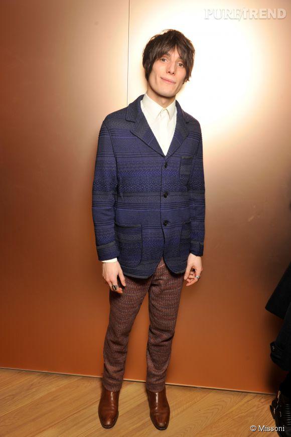 Jeremy Kapone lors du cocktail organisé pour l'ouverture de la nouvelle boutique Missoni à Paris le 27 janvier 2015.