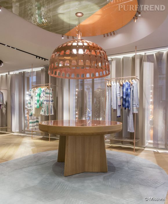 Missoni ouvre une nouvelle boutique à Paris.