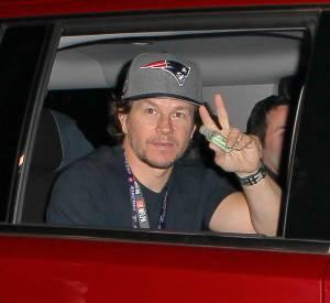 Mark Wahlberg a assisté au Super Bowl 2015 avec ses fils.