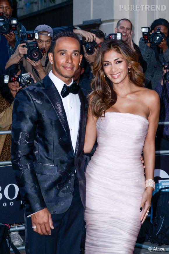 Nicole Scherzinger et Lewis Hamilton, c'était l'amour au grand jour.