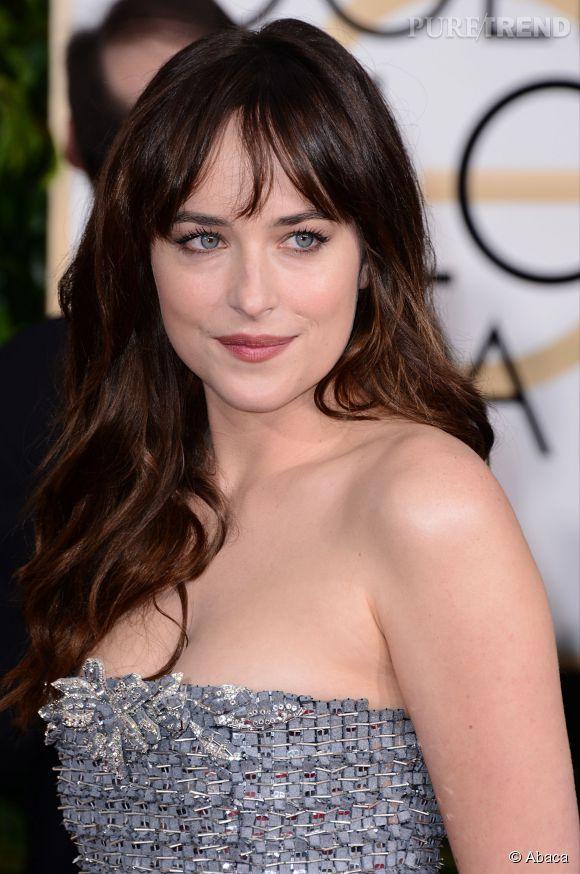 "Dakota Johnson, actrice principale de ""Fifty Shades of Grey"", en salles le 11 février."