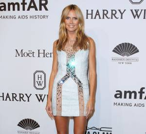 Heidi Klum : un diamant brut au gala de l'AmfAR