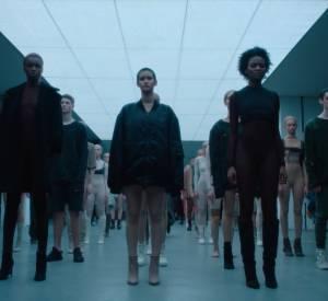 Présentation de la collection de Kanye West avec Adidas lors de la Fashion week de New York, ce jeudi 12 février 2015.