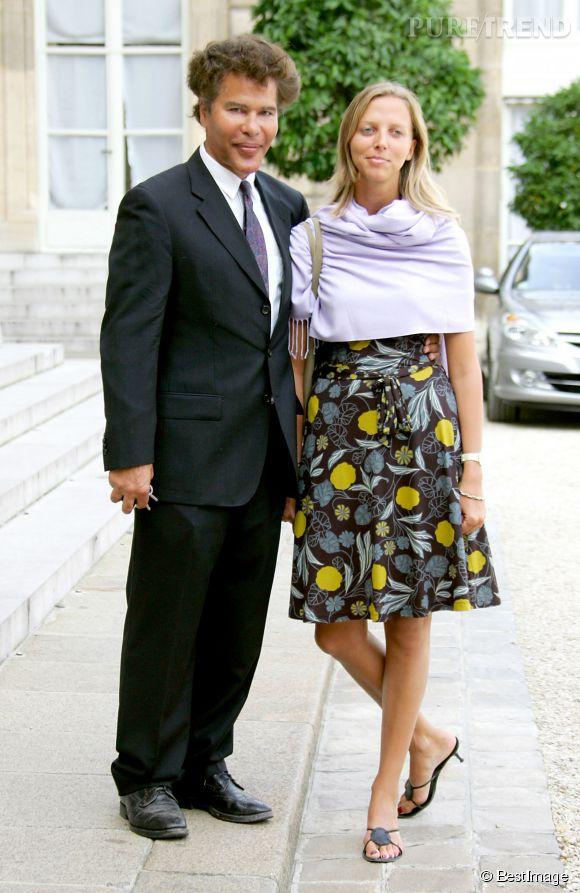 Igor Bogdanoff et sa femme sont ensemble depuis quatorze ans.