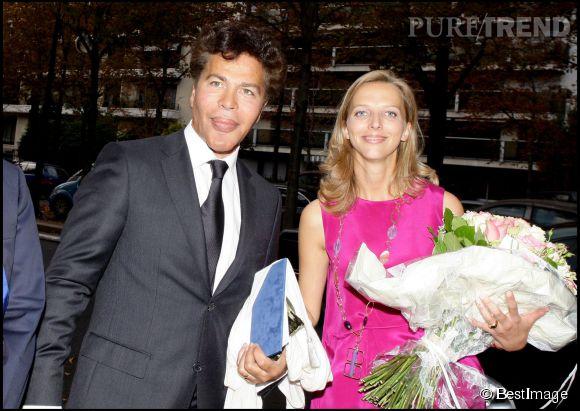 Igor Bogdanoff et Amélie de Bourbon-Parme se sont mariés en octobre 2009.