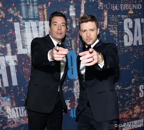 Jimmy Fallon et Justin Timberlake, notre bromance préférée !