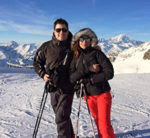 Karine Ferri sur les pistes avec son frère, le charme c'est de famille !