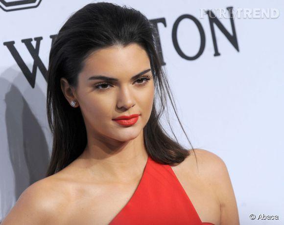 Kendall Jenner, star de la Fashion Week new-yorkaise.