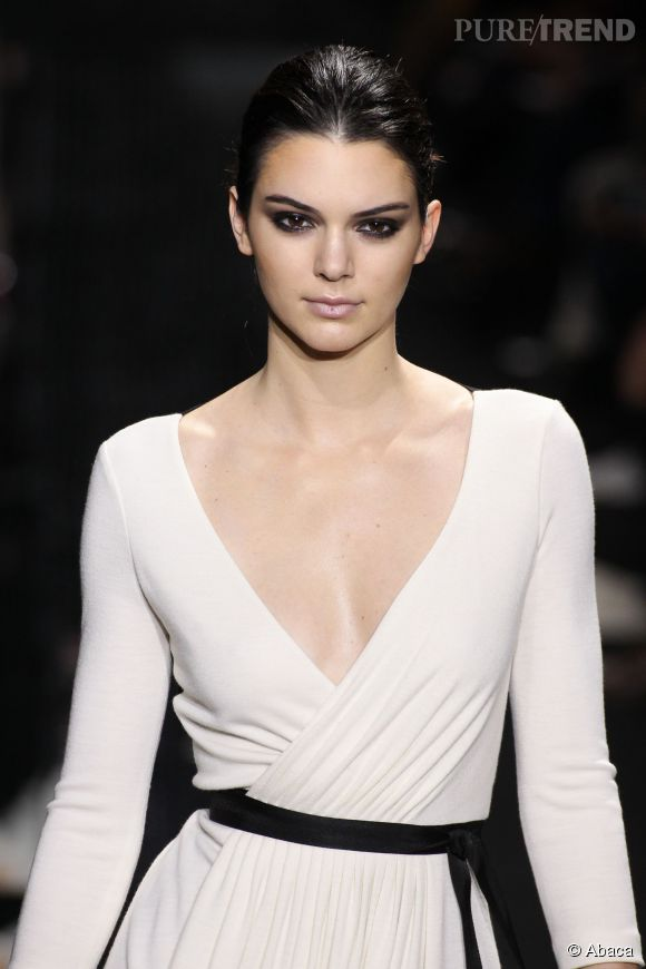 La petite soeur de Kim Kardashian défile désormais pour les plus grands couturiers.