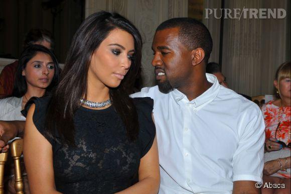 Kim Kardashian et Kanye West, un couple encore mis à rude épreuve.