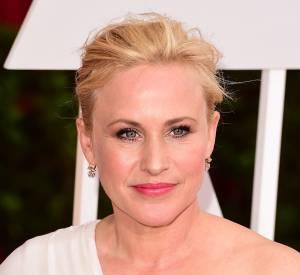 Patricia Arquette a plaider pour plus d'égalité salariales entre acteurs et actrices, lors de son discours de remerciement à la 87ème cérémonie des Oscars, ce dimanche 22 février 2015.