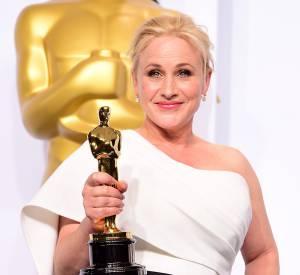 """Patricia Arquette a remporté l'Oscar du meilleur second rôle dans """"Boyhood"""" ce dimanche 22 février 2015, lors de la 87ème cérémonie des Oscars."""