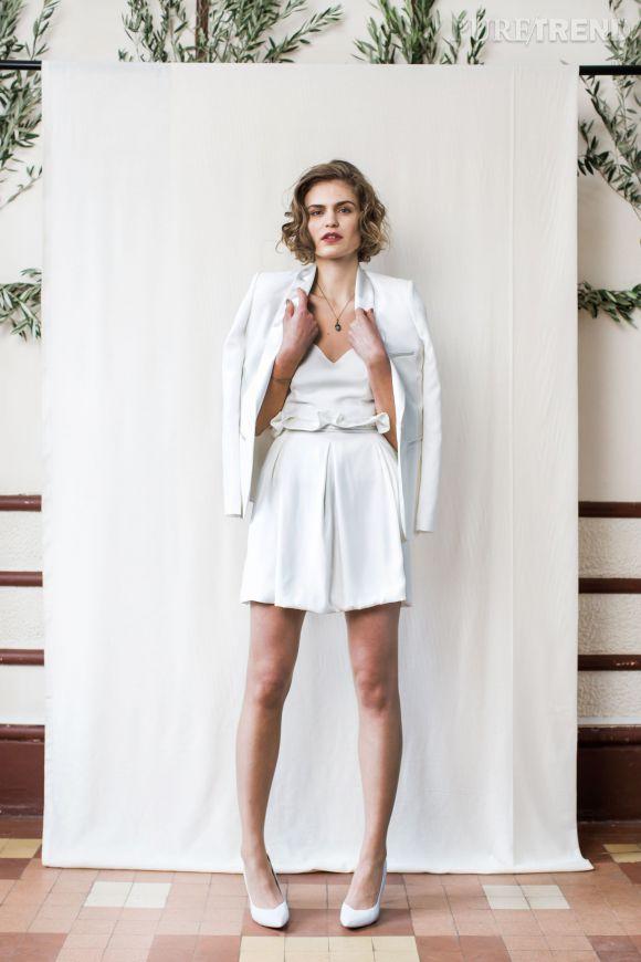 Ensemble Jupe Et Haut Chic : ensemble haut jupe et veste carnets de mariageprix sur demande puretrend ~ Nature-et-papiers.com Idées de Décoration
