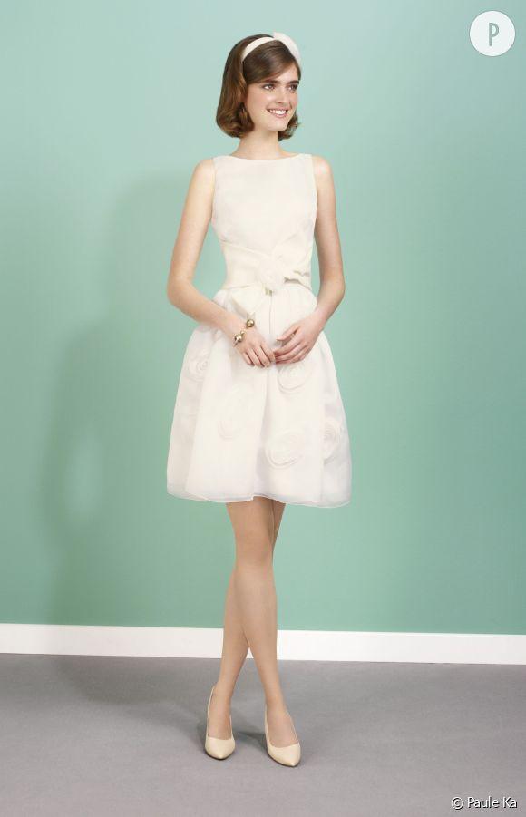 Mariage civil 26 robes de mari e pour dire oui la for Robes violettes plus la taille pour les mariages