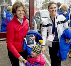 Victoria de Suède, sa fille et Mette-Marit de Norvège, supportrices de choc