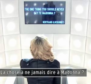 Madonna se lâche dans la Boîte à Questions.