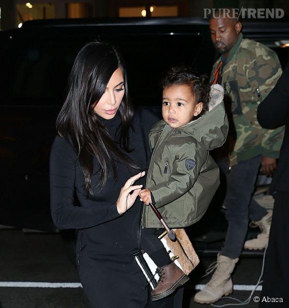 Kim Kardashian respecte la décision de Kanye West de laisser North à l'écart des caméras.