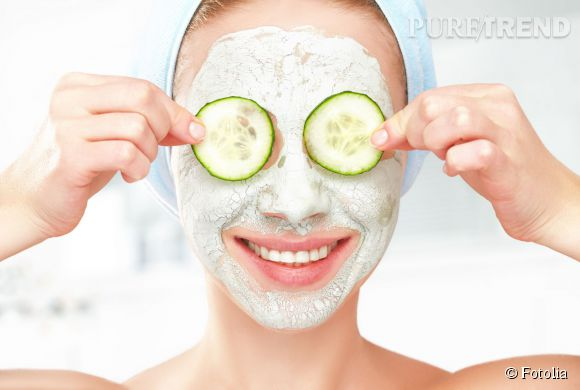 Le masque, idéal pour soigner la peau en profondeur.