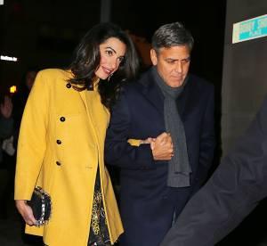 Amal Clooney : plus tendance qu'une first lady pour une sortie en amoureux