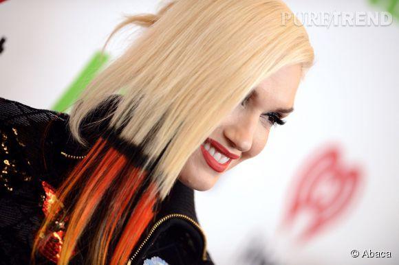 Une coiffure tendance, c'est un dip dye félin, orange et noir, selon Gwen Stefani.