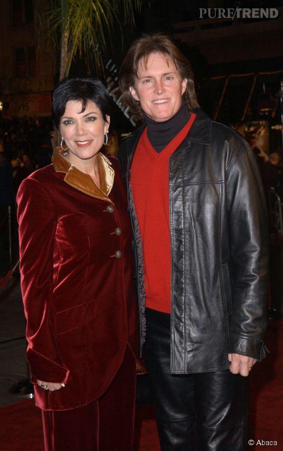Kris et Bruce Jenner dau début des années 2000.