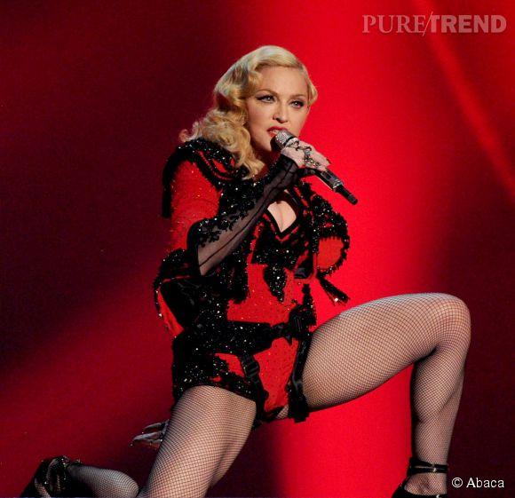 Madonna a piqué un coup de gueule au New York Daily News et revendique le droit de montrer ses fesses.