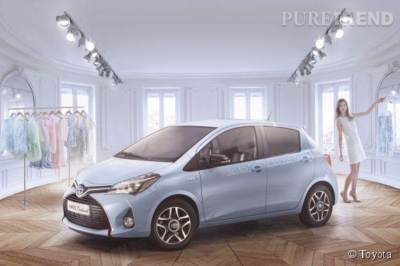 Toyota Yaris x Cacharel, la collab' 100% mode qui va plaire aux citadines.