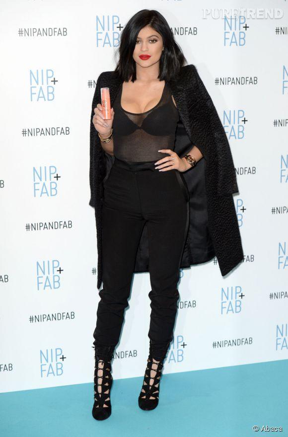 Kylie Jenner : à 17 ans, elle mise tout sur le sex-appeal.