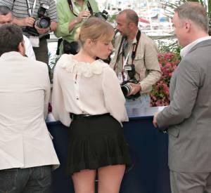 Très à l'aise avec son corps et la nudité, Chloë Sevigny n'a pas peur de l'accident culotte. Même au Festival de Cannes, en 2007.