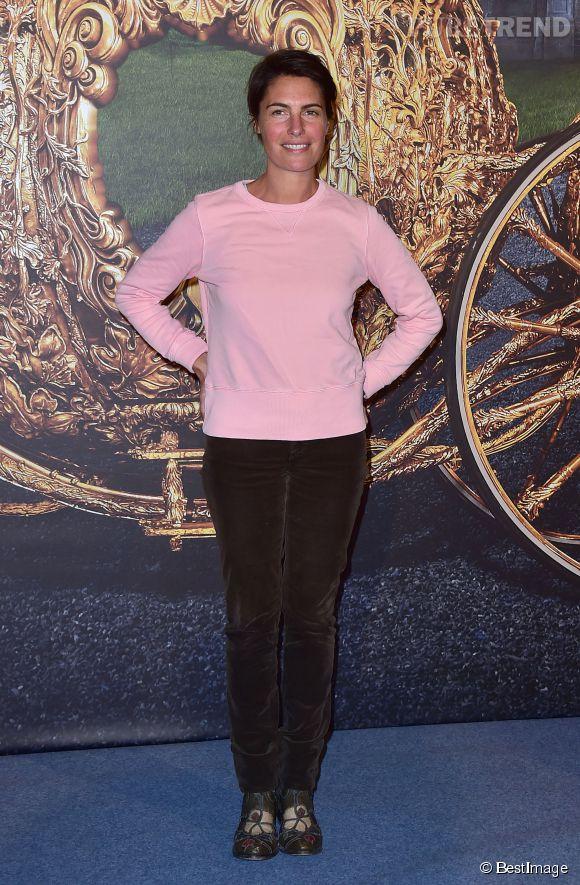 Alessandra Sublet est une femme sans chichis, la maman de deux enfants est de sortie sans maquillage !