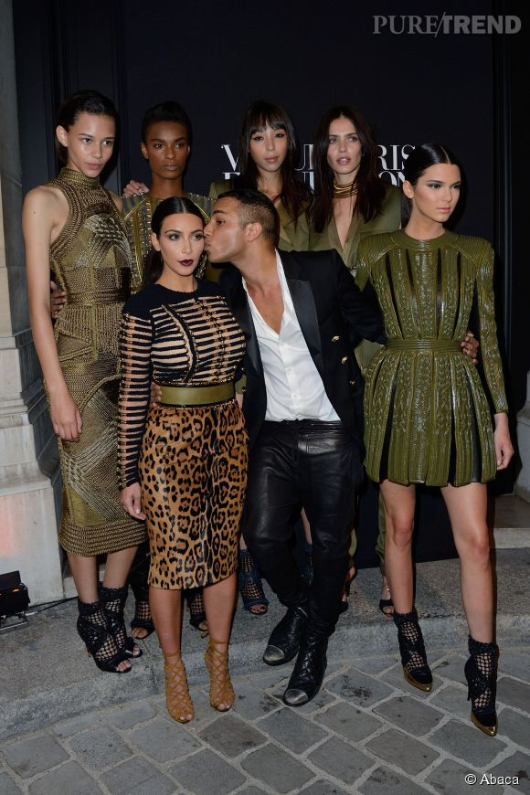 Kim Kardashian et Olivier Rousteing, une jolie amitiée.