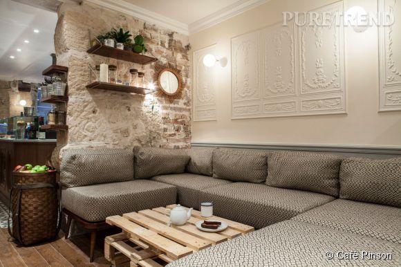 Le Café Pinson.6, rue du Forez, 75003