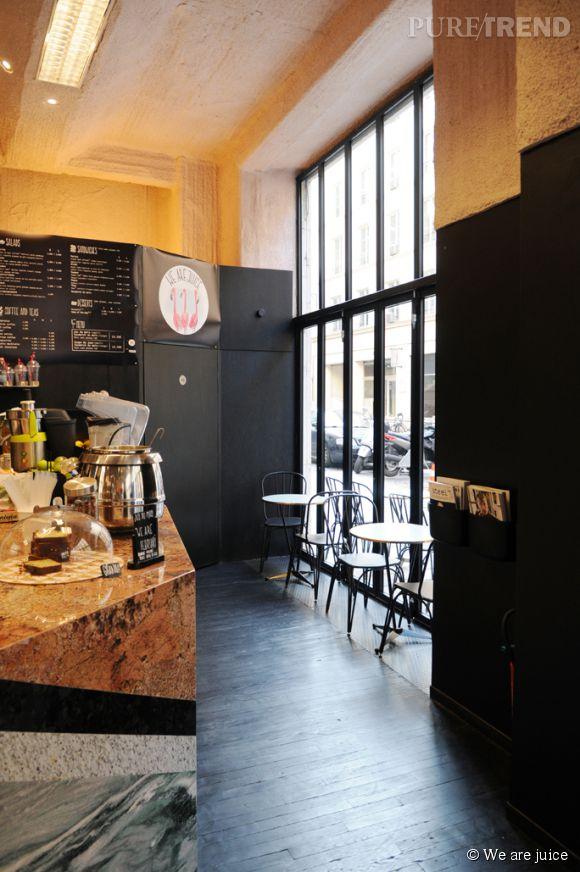 We are juice. 34, rue des jeuneurs, 75002