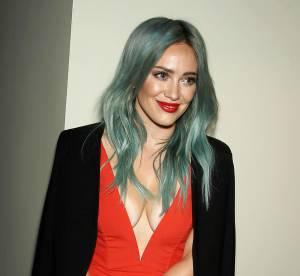 Hilary Duff : cheveux verts et décolleté indécent, Lizzie McGuire a bien changé