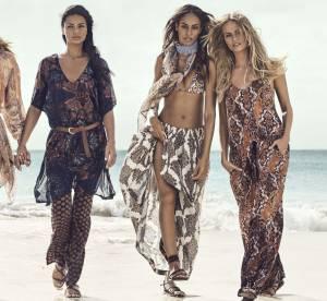 Joan Smalls, Natasha Poly, Doutzen Kroes, Adriana Lima : les amazones sexy d'H&M
