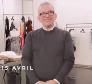 """Bande-annonce du documentaire """"Jean Paul Gaultier travaille"""" signé Loïc Prigent, ce mercredi 15 avril 2015 sur Arte dès 22h10."""