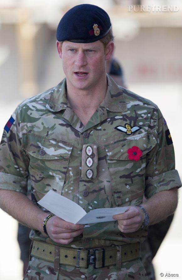 Le capitaine Harry va manquer la naissance de son neveu ou de sa nièce. What a pity !